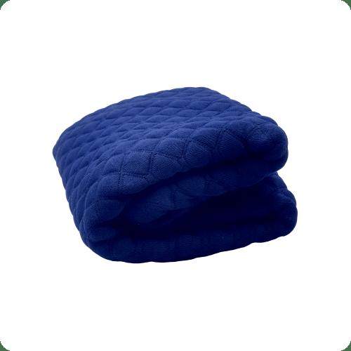 penutup bantal biru